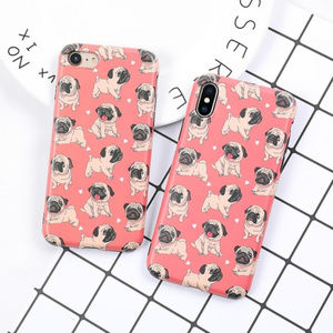 Accessories - NEW iPhone XS/X/7/8/Plus Lovely Pug Case